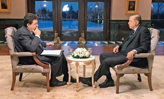 Ο Ερντογάν αμφισβήτησε ελληνική κυριαρχία σε νησιά, σύνορα και μίλησε για «εγγυήτριες δυνάμεις» στο Αιγαίο