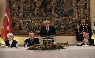 Παυλόπουλος σε Ερντογάν: Το μέλλον της Τουρκίας είναι στην Ε.Ε.