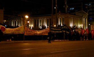 Πλήθος κόσμου στην πορεία μνήμης του Αλέξη Γρηγορόπουλου (φωτο)