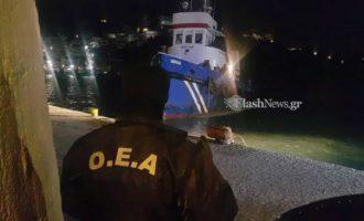 Χανιά: Ρεσάλτο από κομάντο του Λιμενικού σε ναρκω-σκάφος με 7 τόνους χασίς (φωτο)