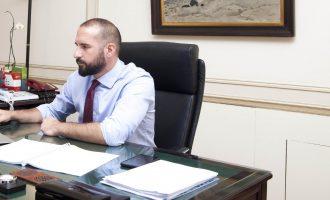 Τζανακόπουλος: Θεατρική παράσταση η εισβολή του ΠΑΜΕ στο υπ. Εργασίας