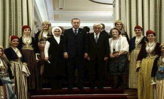 Η ιστορική ομιλία Παυλόπουλου στο Προεδρικό Μέγαρο στο δείπνο με τον Ερντογάν (βίντεο)