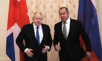 """Τι είπε ο Λαβρόφ για τις """"κακές σχέσεις"""" Μόσχας-Λονδίνου και """"ποιος φταίει"""""""
