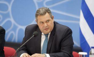 Ο Καμμένος θα ενημερώσει τους υπ. Άμυνας του ΝΑΤΟ για το τι συμβαίνει στο Αιγαίο