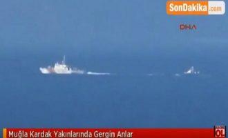 """Προκαλούν οι Τούρκοι: Aνακάλυψαν νέο """"θερμό"""" επεισόδιο στο Αιγαίο (βίντεο)"""