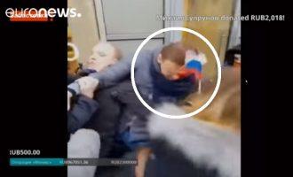 Συνελήφθη ο ηγέτης της ρωσικής αντιπολίτευσης Αλεξέι Ναβάλνι ενώ πήγαινε σε διαδήλωση (βίντεο)