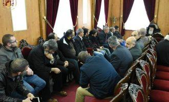 Ελληνορθόδοξοι της Δυτικής Όχθης εξέφρασαν την υποστήριξή τους στο Πατριαρχείο Ιεροσολύμων