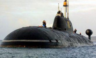 """Απίστευτο: Πήραν πυρηνικό υποβρύχιο και το """"ξέκαναν"""" με την πρώτη (βίντεο)"""