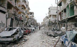 Ο Ντόναλντ Τραμπ «πάγωσε» 200 εκ. δολάρια που προορίζονταν για την «ανασυγκρότηση» της Συρίας