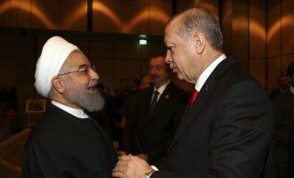 Συνομιλία Ερντογάν-Ροχανί για τον πόλεμο στην Συρία