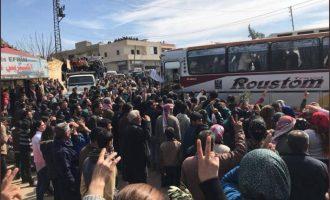 Κουρδικές ενισχύσεις από το Χαλέπι εισήλθαν στην Εφρίν για να πολεμήσουν τους Τούρκους