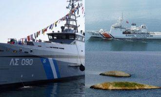 Θερμό επεισόδιο στα Ίμια: Τουρκική ακταιωρός εμβόλισε σκάφος του Λιμενικού