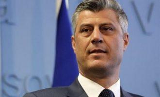 Η ιδέα της διαίρεσης του Κοσόβου είναι νεκρή λέει ο Πρόεδρος Θάτσι