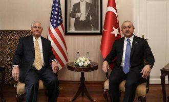 Ο Τίλερσον ζήτησε από τους Τούρκους να σταματήσουν τις επιθέσεις στην Εφρίν – Συμφώνησαν ότι διαφωνούν