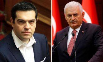 Aυστηρό μήνυμα Τσίπρα σε Γιλντιρίμ για τις τουρκικές προκλήσεις