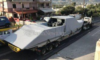 Ατύχημα με στρατιωτικό σκάφος των ΗΠΑ από τη βάση της Σούδας (φωτο)