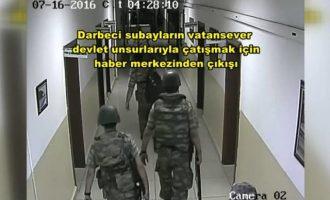 Βίντεο με τους οχτώ Τούρκους φυγάδες οπλισμένους το βράδυ του πραξικοπήματος έδωσε το Anadolu