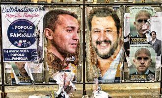 Ιταλία: Σενάρια συνεργασίας «Λέγκα του Βορρά» με «Πέντε Αστέρια»