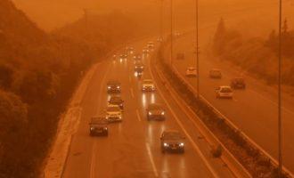 Τι λέει ο Μπεχράκης για το αν είναι τοξικό το αφρικανικό νέφος σκόνης – Τι πρέπει να κάνουμε