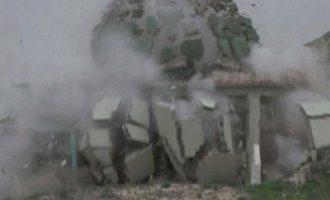 Το Ισλαμικό Κράτος ανατίναξε τέμενος των Σούφι στην επαρχία Κιρκούκ του Ιράκ