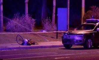 """Σοκαριστικό τροχαίο-βγαλμένο από ένα εφιαλτικό μέλλον: """"Αυτόνομο"""" ταξί σκότωσε ποδηλάτισσα"""