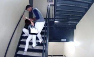 ΣΟΚ: Παίκτης του μπέιζμπολ χτυπά με λύσσα την πρώην κοπέλα του (βίντεο)