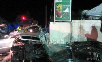 Μακελειό στην Κρήτη – Τρεις νεκροί από αυτοκίνητο που προσέκρουσε σε τοίχο (φωτο)