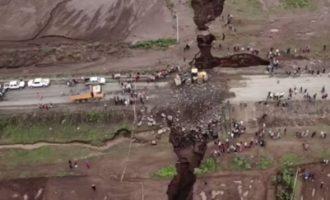 Απίστευτο βίντεο: Ξεκίνησε ο διαχωρισμός της Αφρικής στα δύο! (βίντεο)