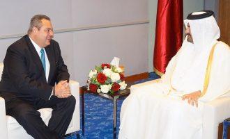 Στο Κατάρ ο Καμμένος – Στο επίκεντρο περιφερειακές εξελίξεις και διμερείς σχέσεις