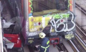 Αυτοκίνητο βρέθηκε στις γραμμές του Ηλεκτρικού στο ΚΑΤ (φωτο)