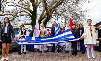 Η Βόρεια Ήπειρος γιόρτασε την 25η Μαρτίου