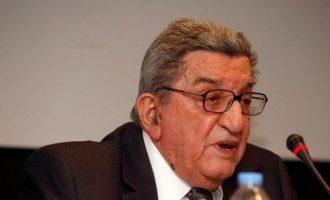 Πέθανε σε ηλικία 93 ετών ο δημοσιογράφος Χρήστος Πασαλάρης
