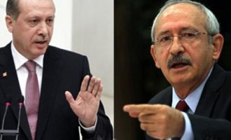O Eρντογάν θέλει να βάλει φυλακή και τον Κεμάλ Κιλιτσντάρογλου για ένα σκίτσο (φωτο)