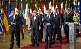 Οι «28» της ΕΕ καταδίκασαν τις «παράνομες ενέργειες» της Τουρκίας σε Αιγαίο και Μεσόγειο