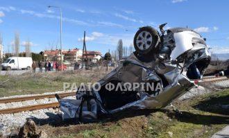 Σοκ στη Φλώρινα από τη φονική σύγκρουση τρένου με αυτοκίνητο (φωτο)