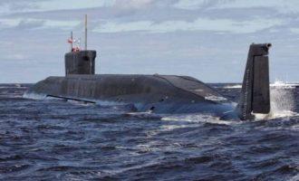 Ρώσοι στρατιωτικοί: «Τα πυρηνικά μας υποβρύχια έφθασαν έξω από τις ακτές των ΗΠΑ»