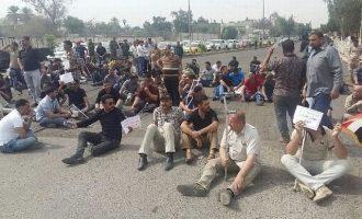 Τραυματίες Ιρακινοί στρατιώτες αρνούνται να επιστρέψουν στις μονάδες τους – Θέλουν να γίνουν δημόσιοι υπάλληλοι