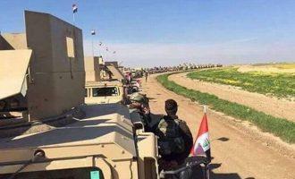 Ιρακινός στρατός αναπτύχθηκε στην πόλη Σιντζάρ των Γιαζίντι για να εμποδίσει την εισβολή Ερντογάν