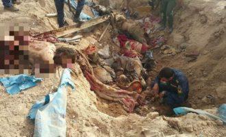 Διμοιρία τζιχαντιστών του Ισλαμικού Κράτους έγινε κομμάτια μέσα στο χαράκωμά της (φωτο)