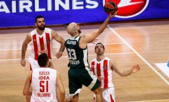 Eυρωλίγκα: Ο Παναθηναϊκός νίκησε Ερυθρό Αστέρα (91-71) και βλέπει ξανά πλεονέκτημα έδρας