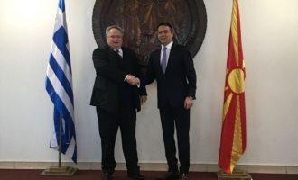 Η μία συνάντηση πίσω από την άλλη για τον Κοτζιά στα Σκόπια – Ποιους θα δει ο ΥΠΕΞ