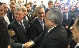 Δεξίωση για την 25η Μαρτίου στα Σκόπια παρουσία Κοτζιά