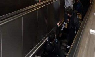 Κυλιόμενη σκάλα «κατάπιε» άνδρα στην Κωνσταντινούπολη (βίντεο)