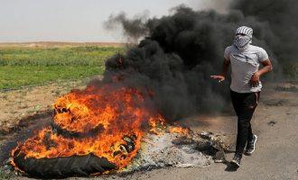 Aιματηρές συγκρούσεις στη Λωρίδα της Γάζας: 15 νεκροί και πάνω από 1.400 τραυματίες (βίντεο)