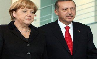 """Μετά τα τυπικά """"συγχαρίκια"""" ο Ερντογάν συζήτησε προσφυγικό-Συρία με τη Μέρκελ"""