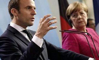 Μακρόν-Μέρκελ στηρίζουν Βρετανία έναντι της Ρωσίας – «Πυρετός» διαβουλεύσεων για την Ευρωζώνη