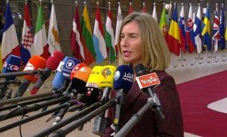 Φεντερίκα Μογκερίνι: Το BREXIT δεν μειώνει την αλληλεγγύη μας στη Βρετανία απέναντι στη Ρωσία