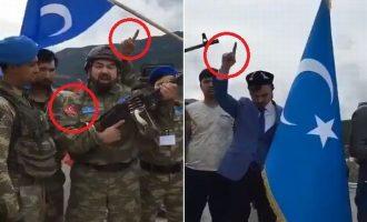Τουρκομογγόλοι Ουιγούροι τζιχαντιστές από την Κίνα μαζί με τον τουρκικό στρατό στην Εφρίν (βίντεο)