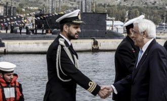 Προκόπης Παυλόπουλος προς Τουρκία: Ο Στόλος μας υπερασπίζεται τη Διεθνή Νομιμότητα