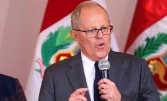 Παραιτήθηκε ο πρόεδρος του Περού – Kατηγορείται για διαφθορά
